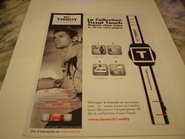 PUBLICITE AFFICHE MONTRE TISSOT AVEC MICHAEL OWEN  2011 - Autres