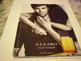 PUBLICITE AFFICHE PARFUM AZZARO  2011 - Fragrances
