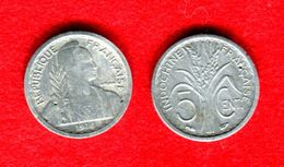 COLONIE - COLONIALES - INDOCHINE - INDO CHINA - 5 CENTS 1946 - PAS COURANT - Colonias