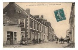 72 SARTHE - SAINT PIERRE DU LOROUER Arrivée Côté La Chartre, Dentellières (voir Descriptif) - Other Municipalities