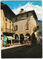 Cannobio:  FIAT 1100 FAMILIALE '66, FIAT 850 - 'PT' , Scorcio Pittoresco - (Lago Maggiore) - Turismo