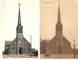 Wijneghem / Wijnegem : Kerk  --- 2 Kaarten - Wijnegem
