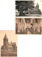 Zoersel : Kerk ( Linde ) ---- 3 Kaarten - Zoersel