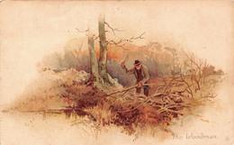 Illustration - The Woodman - Bucheron - Illustrateurs & Photographes