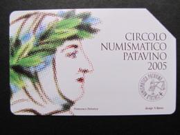 552 GOLDEN EURO - CIRCOLO NUMISMATICO PATAVINO 2005 - USATA - Public Advertising