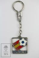 Vintage FIFA World Cup Spain 1982, Enamel Keyring/ Keychain - Llaveros