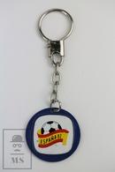 Vintage FIFA World Cup Spain 1982, Metal Keyring/ Keychain - Llaveros