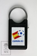 Vintage FIFA World Cup Spain 1982, Lansa Keysafe Swiss Made Keyring/ Keychain - Llaveros