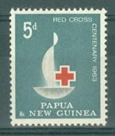 Papua New Guinea: 1963   Red Cross    MH - Papua New Guinea