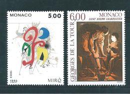 Monaco Timbres De 1993  N°1909/10   Neufs ** - Neufs