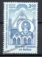 Inde - India 1998 Yvert 1420, Library And Reading Room David Sasson - MNH - Inde