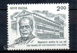 Inde - India 1998 Yvert 1403, 125th Anniversary Of Vidyasagar College - MNH - India