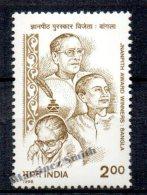 Inde - India 1998 Yvert 1394,  Winners Of The Jnanpith Price Of Bengali Language - MNH - India