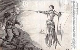 Jeanne D'Arc - Illustration Illustrateur Solomko - Militaire Militaria - Femmes Célèbres