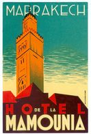 MAROC MARRAKECH HOTEL DE LA MAMOUNIA - Hotel Labels