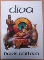 Rare Album 1983 DIVA Par BORIS VALLEJO - Livres, BD, Revues