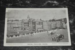 275  Folkestone  Royal Pavilion Hotel  Cars  Autos   1924 - Folkestone