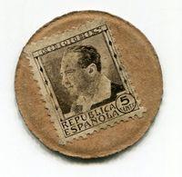 ESPAGNE TIMBRE MONNAIE - Monétaires/De Nécessité