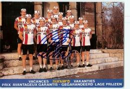 Equipe Boule D'Or Avec Autographe De Roger DE VLAEMINCK. Cyclisme. 2 Scans. Equipe Boule D'Or - Radsport