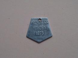 Belasting Op HONDEN : ANTWERPEN 1975 - 009810 ( TOKEN For Dog / Chien TAX / For Detail, Zie/see Photo ) ! - Unclassified