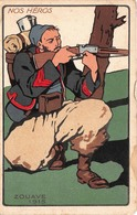 Illustration - Nos Héros - Zouave 1915 - Militaire Militaria Soldat - 1900-1949