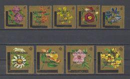 BURUNDI. Y/T PA 34/42 Neuf **  Fleurs. Timbres Surchargés 1967 - 1962-69: Neufs
