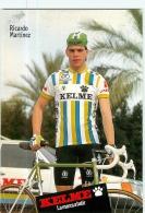 Ricardo MARTINEZ . Cyclisme. 2 Scans. Equipe Kelme 1988 - Cycling