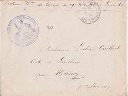 Lot De 34 Enveloppes Grande Guerre WW1 Marque Postale Militaire 29e Régiment D'Artillerie Lorient Hornoy Aumont Somme - 1. Weltkrieg 1914-1918
