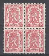 BELGIE - OBP Nr 423 (blok Van 4) - Klein Staatswapen - MNH** - 1935-1949 Piccolo Sigillo Dello Stato