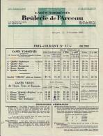 13 - BOUCHES DU RHONE - SALON - VIEILLE FACTURE - 1933 - BRULERIE DE L ARCEAU - 1900 – 1949