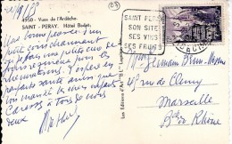 07 - ARDECHE - ST PERAY - DAGUIN FLAMME - 1955   STPE101 - Marcophilie (Lettres)