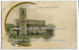 CARTOLINA S. ANTIMO SIENA LA BASILICA - Siena