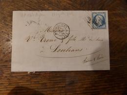 01.02.18_ LAC  De Morez-du Jura GC 2535 Avec N°22,a Voir!! - Postmark Collection (Covers)
