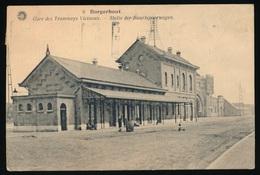 BORGERHOUT - GARE DES TRAMWAYS VICINAUX - STATIE DER BUURTSPOORWEGEN - Autres