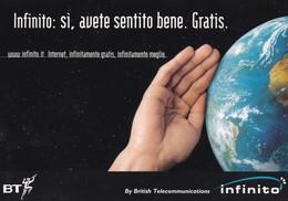PROMOCARD N°  1471  BRITISH TELECOMUNICATIONS INFINITO - Publicité