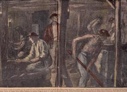 """DENAIN Fosse Renard Accident """"Coup De Poussier"""" Près VALENCIENNES Vicoignes Mine Mineur Mining """"Gueules Noires"""" - 1900 - 1949"""