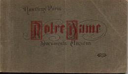 75 Mon Vieux PARIS  Notre Dame Documents Anciens  Carnet De 13 Vues - Notre Dame De Paris