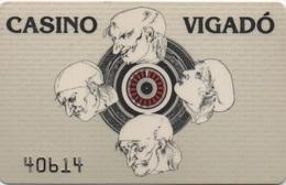 Carte De Membre Casino : Vigadó 1051 Budapest - Cartes De Casino
