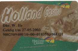 Carte De Membre Casino : Holland Casino - Cartes De Casino