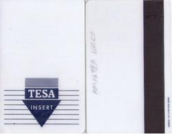 SPAIN. HOTEL KEY CARD. TESA. 009. - Cartas De Hotels