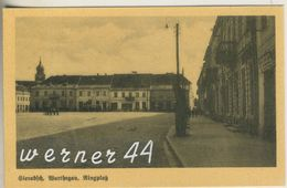 Sieradsch V.1925  Der Ringplatz (12795) - Schlesien