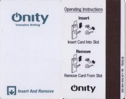 SPAIN. HOTEL KEY CARD. ONITY. 008. - Cartas De Hotels