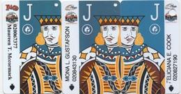 Carte De Membre Casino : Plaza & Las Vegas Club : Lot De 3 Cartes Différentes - Cartes De Casino
