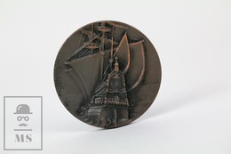 Bronze Medal From The V Royal Barcelona Yacht Club - Spanish Galleon - Spain