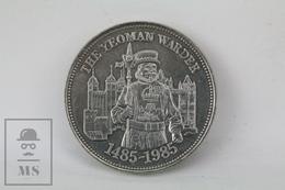 Great Britain 500th Anniversary Of The Yeoman Warders Commemorative Medal - Reino Unido