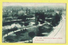 * Liège - Luik (La Wallonie) * (E. Dumont, Nr 23) Panorama Du Square D'Avroy, Parc, étang, Rare - Liège