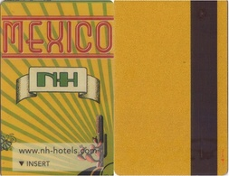 SPAIN. HOTEL KEY CARD. NH MEXICO. 005. - Cartas De Hotels