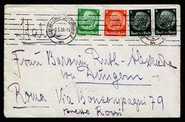 A5122) DR Brief Berlin-Charlottenburg 3.5.38 Rom Mit Inhalt - Briefe U. Dokumente
