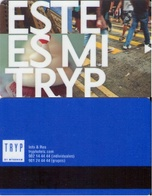 SPAIN. HOTEL KEY CARD. TRYP HOTEL. 018. - Cartas De Hotels