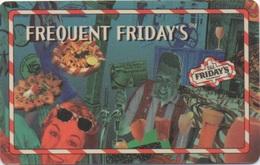 Carte De Fidélité : T.G.I. FRIDAY'S USA 1995 - Other Collections